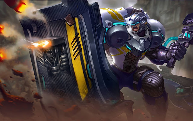 Johnson Mustang Heroes Tank of Skins Mobile Legends Wallpaper HD for PC