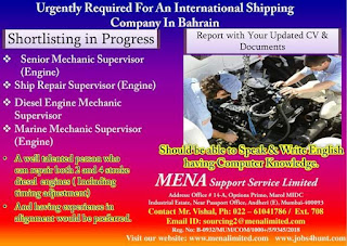 International Shipping Company Jobs in Bahrain