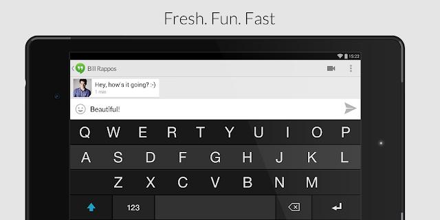 تطبيق Fleksy Keyboard للكتابة بسرعة ودقة على هاتفك الذكي