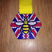 Fitbitches : My Running Medals in 2017 - Virtual Runner Forever Manchester Always Remeber #Run22