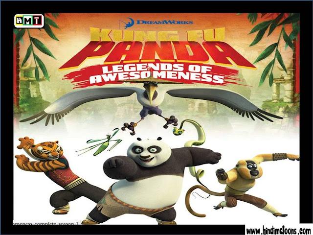 Kung Fu Panda : Legend Of Awesomeness HINDI Episodes