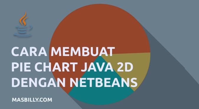 Cara Membuat Pie Chart (Grafik Lingkaran) di Netbeans Java 2D Tanpa Library