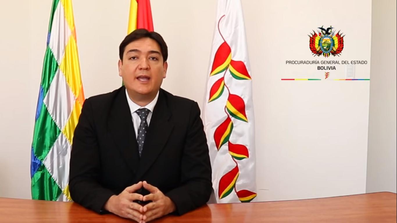 El procurador general del Estado, José María Cabrera / PROCURADURÍA