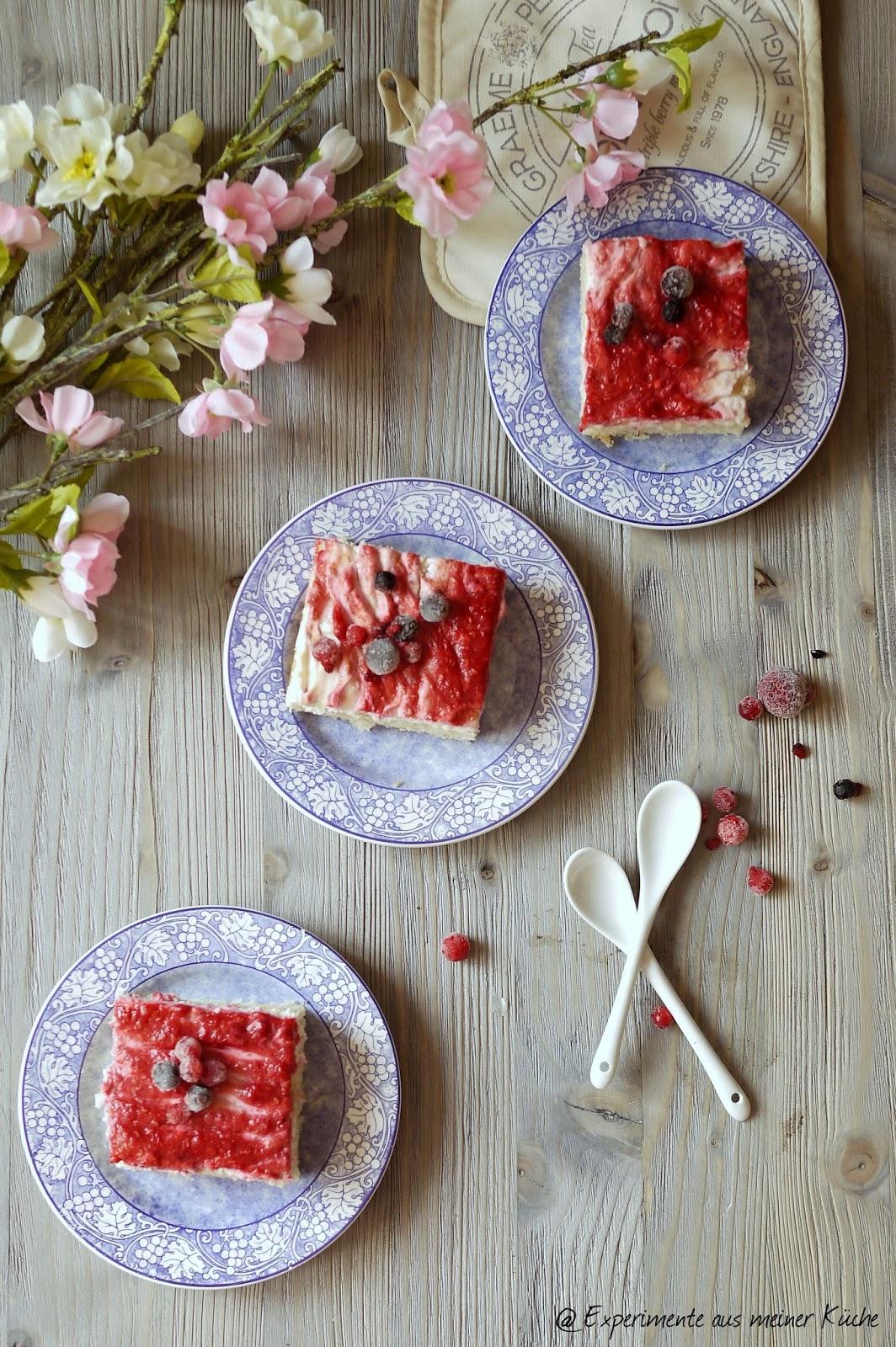 Experimente aus meiner Küche: Himbeer-Mandelgiotto-Kuchen