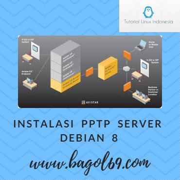 Konfigurasi  PPTP  Server  debian  8