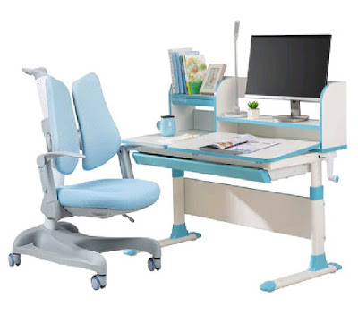 Totguard's ergonomic adjustable study table and chair