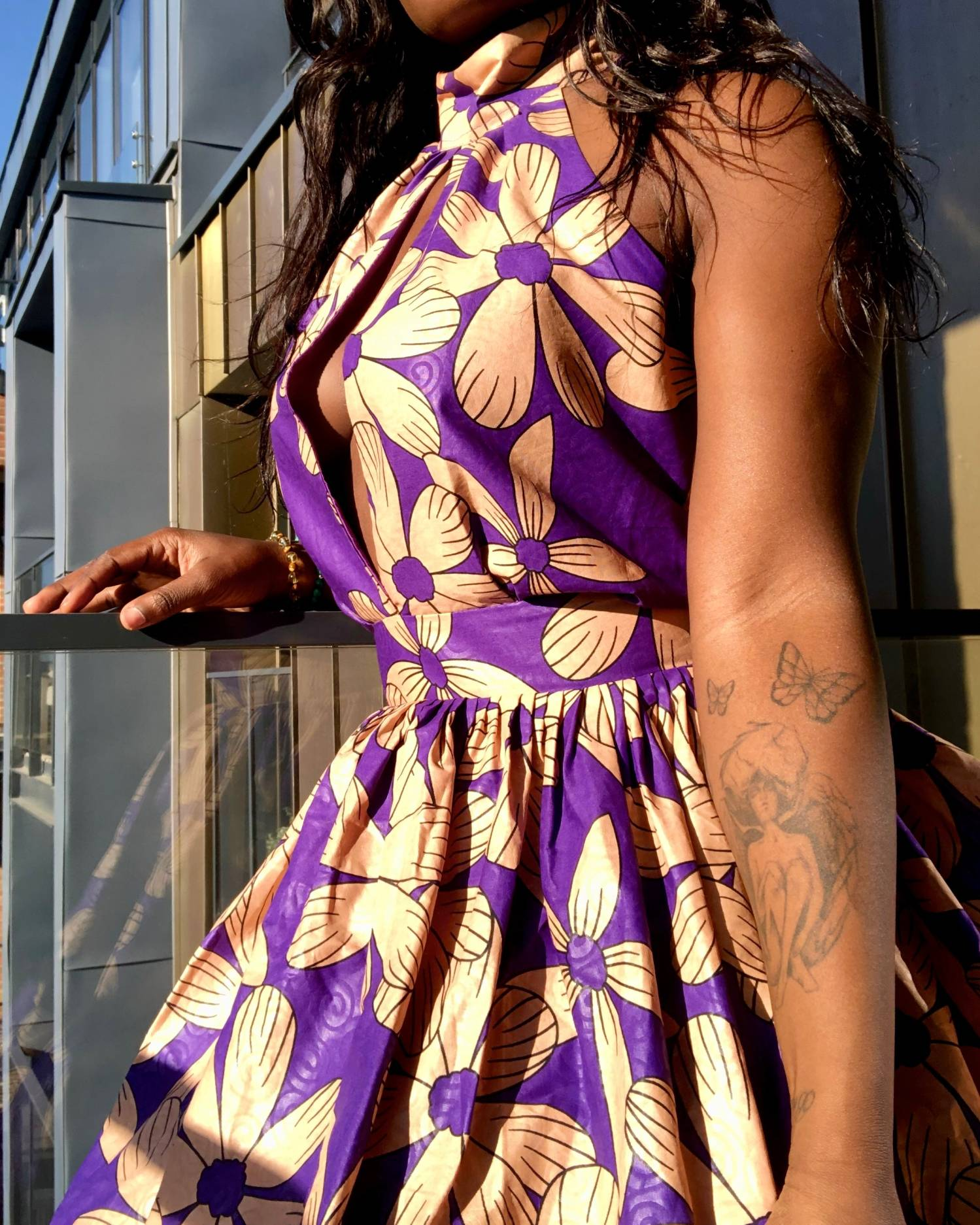 African dresses with African Fabric UK