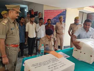 फर्जी आधार कार्ड बनाने वाले गिरोह का भंडाफोड़, चार गिरफ्तार  | #NayaSaberaNetwork