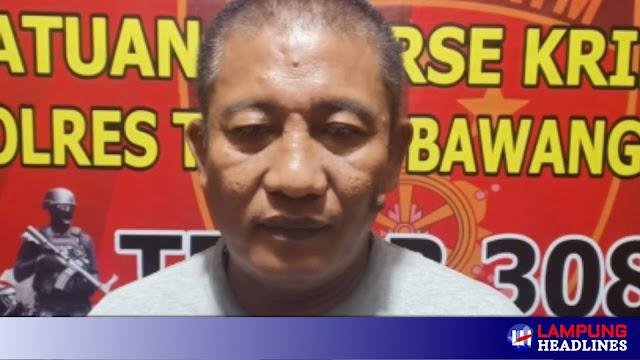 Tekab 308 Tubaba Amankan Pelaku Penganiayaan Di Pasar Panaragan Jaya