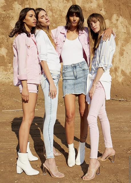 Moda primavera verano 2020: Batik, neón, jeans de colores primavera verano 2020.
