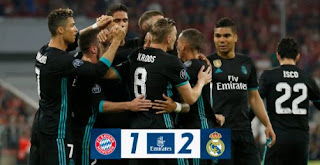 Bayern Munich vs Real Madrid 1-2 Highlights Liga Champions