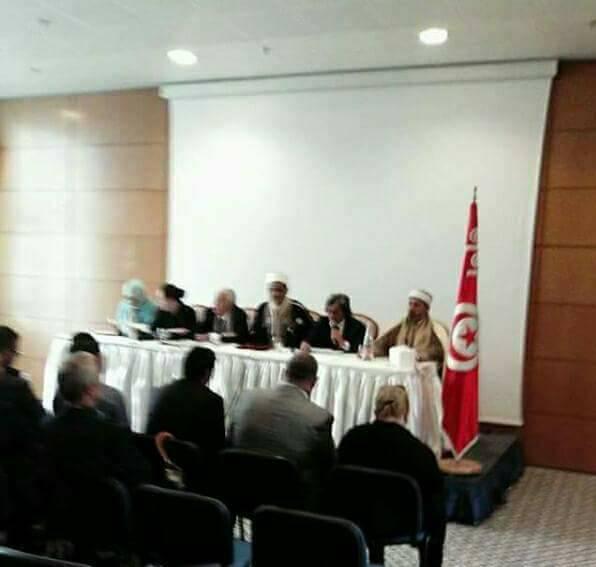 """تقرير حول فعاليات المنتدى الفكري الذي أقيم في مدينة الحمامات بـ """" تونس"""" يومي 23/24ديسمبر2017"""
