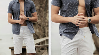 How to wear open button dress shirt, Short sleeve shirt