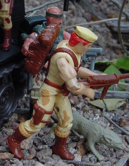 1991 Dusty, 1993 Battle Corps Duke, 2004 Desert Patrol Gung Ho, Toys R Us Exclusive, 2001 Night Rhino