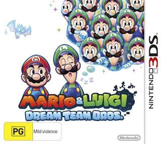 Free Download Mario & Luigi Dream Team 3DS CIA