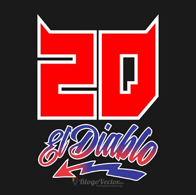 Fabio Quartararo #20 Logo vector (.cdr)