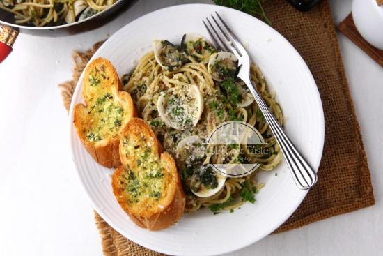 Resep Spaghetti dengan Kerang JTT