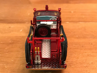 chrome nissan junior tomica limited vintage fire