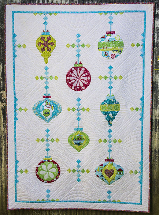 Vintage Ornaments Quilt-Along designed by Cherry Guidry for We All Sew