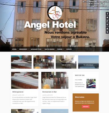 Hotel website - Angel Hôtel