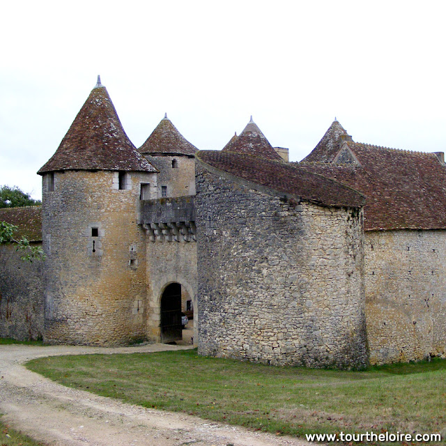 Chateau de Forges, Vienne, France. Photo by Loire Valley Time Travel.