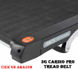 3g cardio pro tread belt