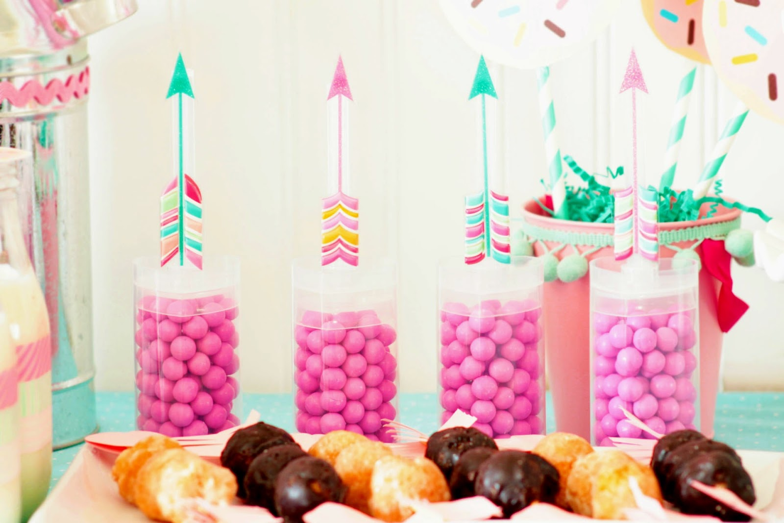 Cupcake Wishes & Birthday Dreams: Donuts for You Valentine's Day Party