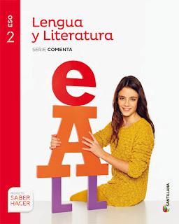 Libro Lengua y Literatura 2º ESO Santillana Proyecto Saber Hacer Serie Comenta