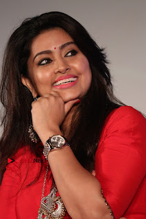 Actress Sneha Latest Stills in Red Dress at Simba Audio Launch  0006.jpg