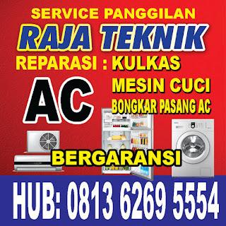 Raja Teknik Banda Aceh adalah Spesialis Jasa Servis Kulkas & Mesin Cuci Panggilan di Banca Aceh, Kulkas & Mesin Cuci merk Elextrolux, Samsung, LG, Panasonic, Polytron, Denpoo, Domo, Akari, Akira dan lain-lain  Jangan ragu untuk menghubungi operator kami akan melayani dengan baik atas segala keluhan anda. Untuk Wilayah Banda Aceh dan Sekitarnya  Kami menerima Jasa Service Panggilan untuk wilayah Banda Aceh dan sekitarnya dengan Harga Murah Terbaik, untuk berbagai macam service elektronik baik untuk pelanggan perorangan, kantor, perusahaan dan instansi pemerintah.  Kami mampu memperbaikinya dengan penaganan yang sesuai standar spesifikasi pabrikannya, kami menjamin pelayanan service elektronik kami paling ekonomis.  Perusahaan kami telah berpengalaman dalam bongkar pasang Ekeltronik, seperti mesin Kulkas dan juga Mesin Cuci. segala merk untuk perbaikan dan maintenance baik di perusahaan besar maupun perumahan.
