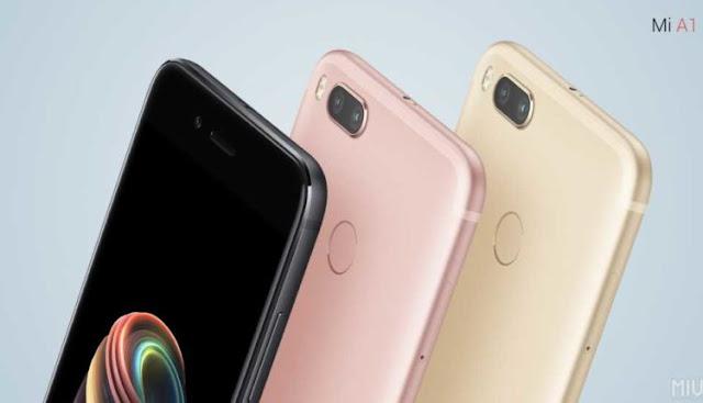 شاومي تعلن عن أول هاتف ذكي لها مع نظام أندرويد الخام Xiaomi Mi A1