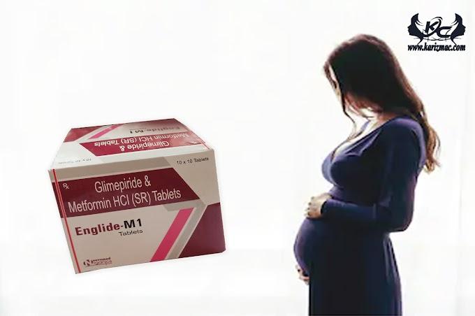 Does glimepiride affect pregnant women?