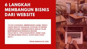 6 Langkah Membangun Bisnis dari Website