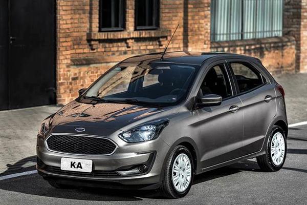 Ford Ka teve decréscimo de 13,51% entre o modelo 0 km, em janeiro, e o seminovo, em dezembro de 2020 – Foto: Divulgação