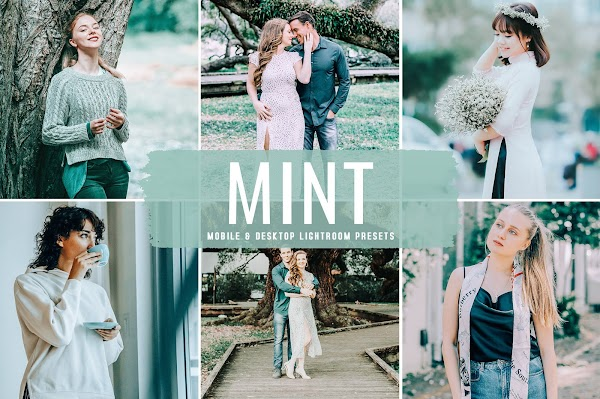 Bright Minty Warm - Mint Pro Lightroom Presets Pack