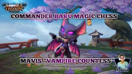 Commander Baru Mavis Magic Chess