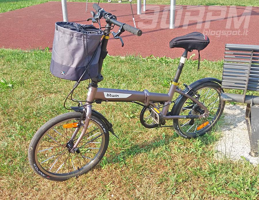 Cestino Bici Pieghevole 300 Di Btwin