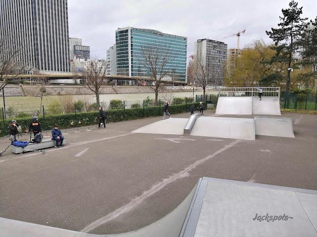 Skate park Neuilly sur seine