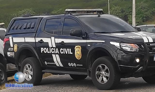 Operação policial é deflagrada na cidade de Caraúbas, RN