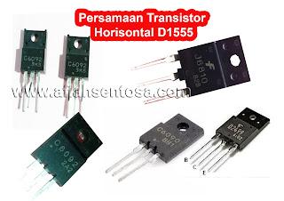 Persamaan Transistor Horisontal D1555