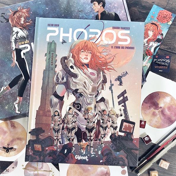 Phobos bd t1 – L'envol des éphémères