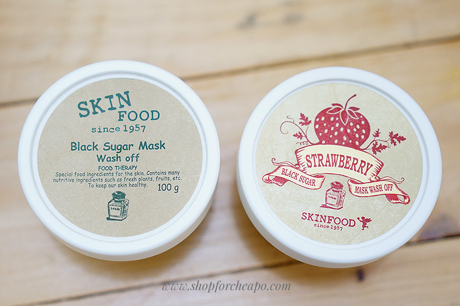 review skinfood black sugar mask original strawberry