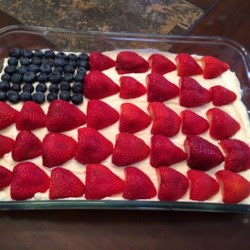 http://www.kraftrecipes.com/recipes/flag-cake-53409.aspx