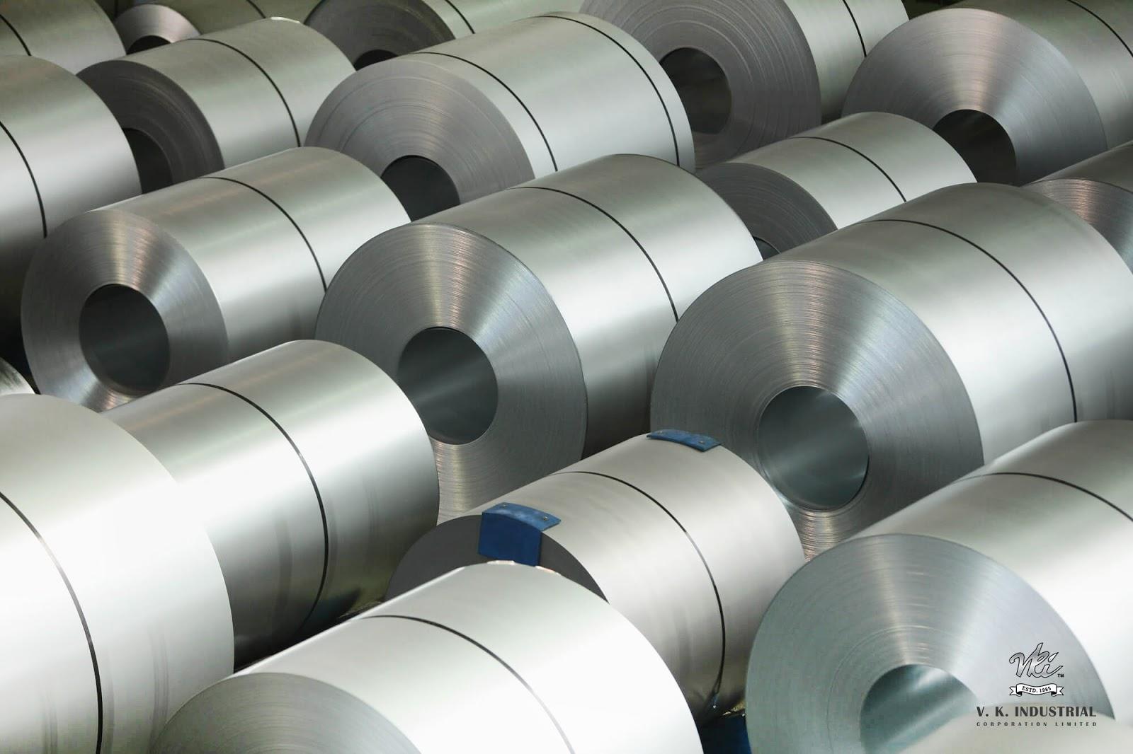 V K Industrial Corporation Ltd  Blogs: INDIAN STEEL SECTOR