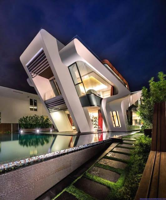Elevation Designs For 2 Floors Building