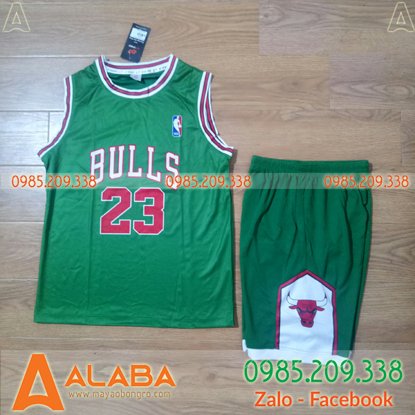 Áo bóng rổ Bulls màu xanh hot