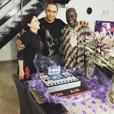 parents of dj freez cool fm at his 40th birthday