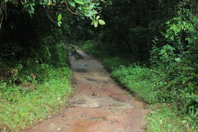 Akses Jalan Lokasi Wisata Bukit Gebang
