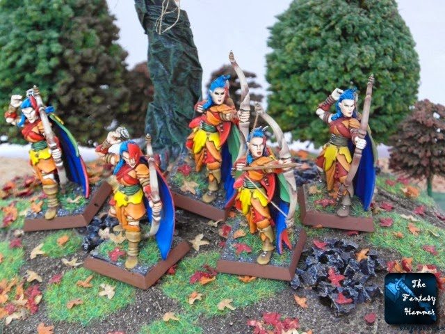 Wood Elves Glade Guard unit 1