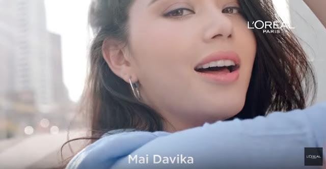 Mai Davika Hoorne Bintang Cewek Iklan Loreal Paris